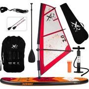 Stand-Up Paddle Board Windsurf - Rot/Orange, Basics, Kunststoff (320/76/15cm)