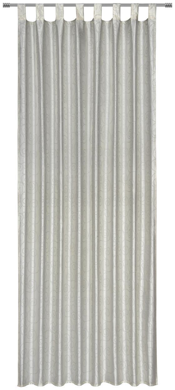 Kombivorhang Liliane - Beige, ROMANTIK / LANDHAUS, Textil (140/255cm) - James Wood