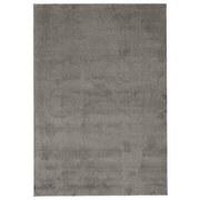 Hochflor Teppich Anthrazit Sansa 133x180 cm - Anthrazit, Basics, Textil (133/180cm) - Ombra