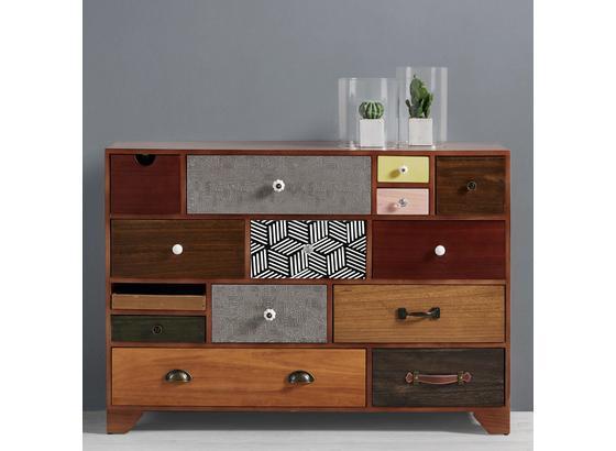 Komoda Heather - viacfarebná, Moderný, kov/drevo (115/81/38cm) - Mömax modern living