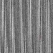 Teppichfliese Lineations 50x50 cm, Grau - Grau, MODERN, Textil (50/50cm)