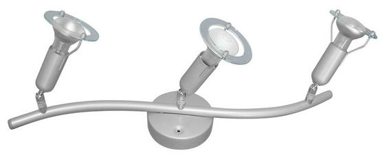 Strahler Timi - Silberfarben, KONVENTIONELL, Kunststoff/Metall (55cm) - Ombra