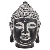 Buddha Orthia - Grau, ROMANTIK / LANDHAUS, Kunststoff (11.5/10.5/16cm) - James Wood
