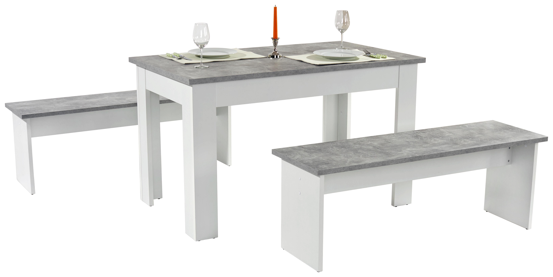 Tischgruppe PARIS Betonoptik