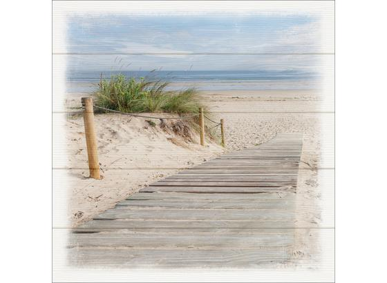Keilrahmenbild Steg Zum Strand online kaufen ➤ Möbelix