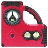 Premium Wasserwaage K611986b - Rot/Schwarz, MODERN, Kunststoff/Metall (23,2/3,2/23,2cm) - Walter