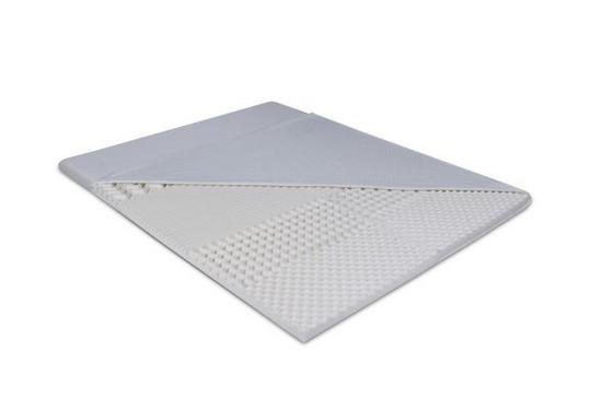 Vrchní Matrace Viva Pur - bílá, textilie (200/140/6cm) - Primatex