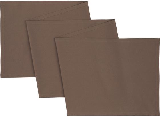 Ubrus 'běhoun' Na Stůl Steffi Prodloužený - šedohnědá, textil (45/240cm) - Mömax modern living