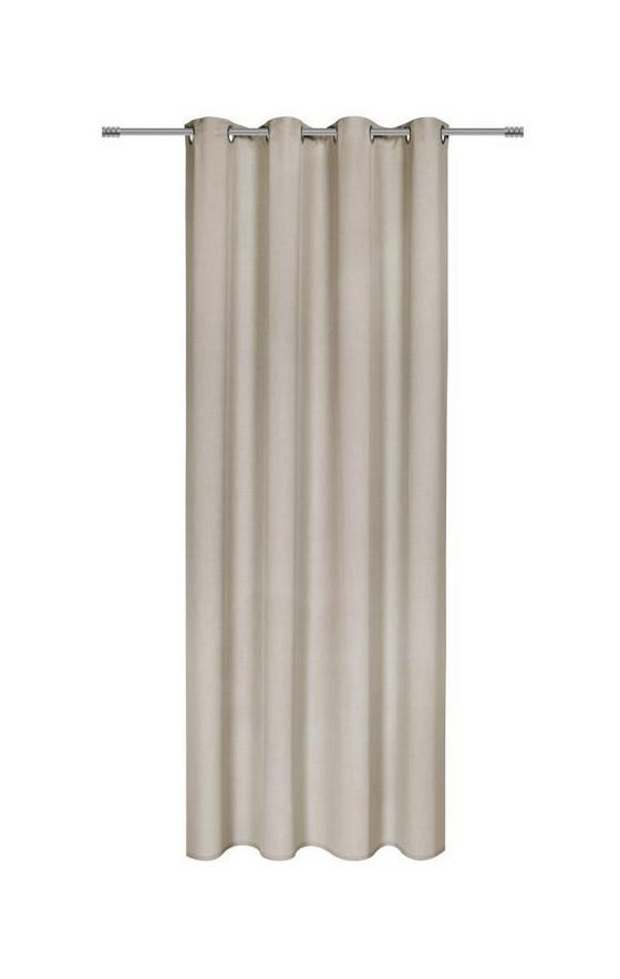Závěs Hotový Ulli - pískové barvy, textil (140/245cm) - Mömax modern living