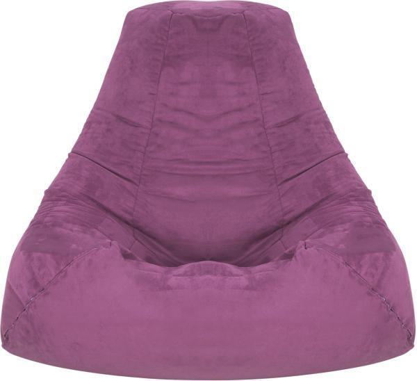 Ülőzsák Verona - lila, textil (90/105/90cm)
