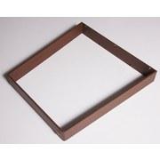 Tischgestell V-Form B 70cm H 71cm, Rostfarben - Rostfarben, Basics, Metall (70/71cm)