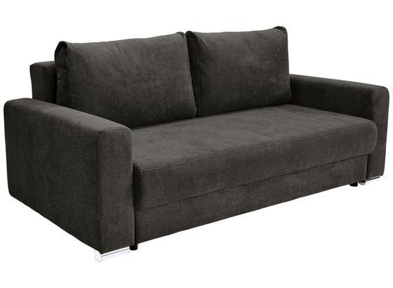 Velká Pohovka Garcia - šedá/hnědá, Moderní, dřevo/textil (248/90/103cm) - Luca Bessoni