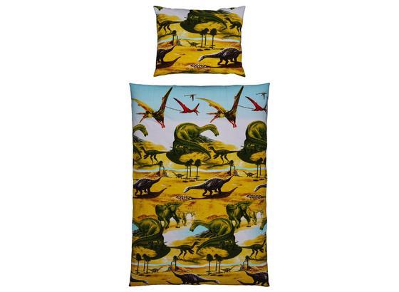 Bettwäsche Dinosaurier - Multicolor, MODERN, Textil - Luca Bessoni