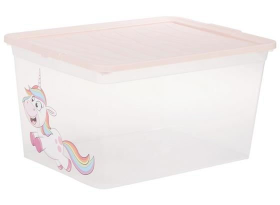Aufbewahrungsbox Rainbow - Multicolor, KONVENTIONELL, Kunststoff (38,4/19,9/28,3cm)