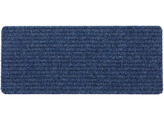 Dveřní Rohožka Mona - šedá/modrá, Konvenční, textil (25/60cm) - Mömax modern living