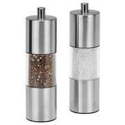 Salz- oder Pfeffermühle Collini - Silberfarben, KONVENTIONELL, Keramik/Kunststoff (4,5/15,5cm) - Collini