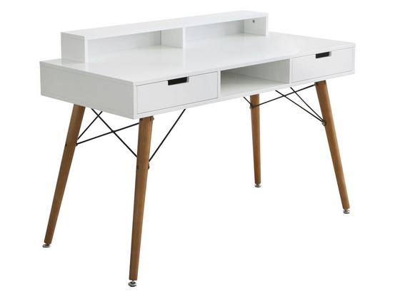 schreibtisch aus holz. Black Bedroom Furniture Sets. Home Design Ideas
