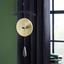 Vonkajšia Zvonkohra Gong I - čierna/farby mosadze, kov (94cm)