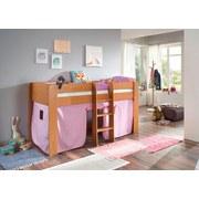 Spielvorhang 3-teilig Rosa/ Flieder - Flieder/Rosa, Design, Textil