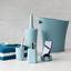 Koš Na Kosmetické Potřeby Lilo - modrá, Moderní, umělá hmota (34/16/33cm) - Mömax modern living