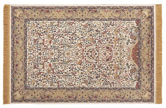 Teppich Isphahan 160x230 cm - Beige, KONVENTIONELL, Textil (160/230cm)