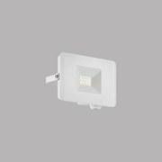 LED-Außenleuchte Faedo 3 - Weiß, MODERN, Glas/Metall (11/8/3cm)