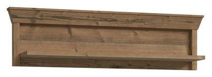 Regálový Díl Nepal - barvy smrku, Konvenční, kov/kompozitní dřevo (123/34/24cm)