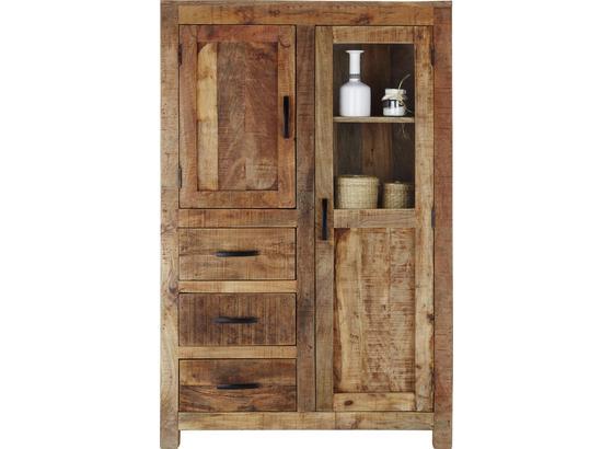 Komoda Highboard Industry - prírodné farby, Štýlový, drevo (95/147/47cm) - James Wood