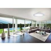LED-Deckenleuchte Giron-s - Weiß, MODERN, Kunststoff/Metall (100/12cm)