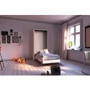 Schrankbett Juist L: 213 cm Weiss - Weiß, KONVENTIONELL, Holz/Holzwerkstoff (90/200cm) - Livetastic