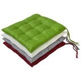 Sitzkissen Jolanda - Beige, MODERN, Textil (40/40/3cm) - Luca Bessoni