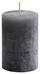 Stumpenkerze Ivonn - Grau, KONVENTIONELL (7/10cm) - Ombra