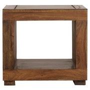 Couchtisch Holz Massiv Mumbai, Sheeshamfarben B:50cm - Sheeshamfarben, Design, Holz (50/50/45cm) - MID.YOU