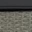 Loungegarnitur Nicole 4-Teilig inkl. Polster - Grau, MODERN, Glas/Kunststoff (193/250cm) - Luca Bessoni