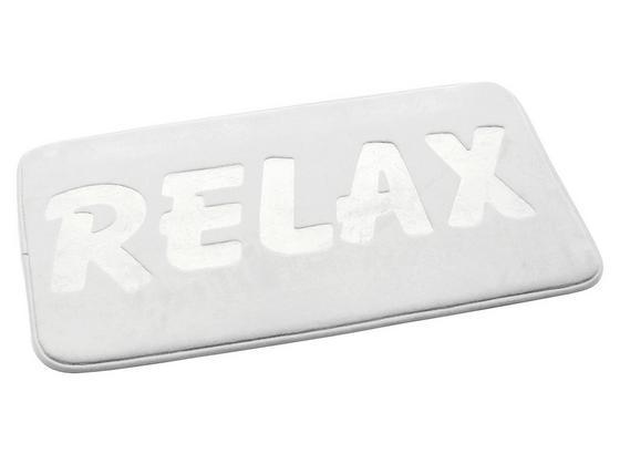 Rohožka Do Kúpeľne Relax - biela, Moderný, textil (50/80cm) - Mömax modern living