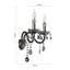 Svítidlo Nástěnné Isabella 36/33cm, 2x40 Watt - Romantický / Rustikální, kov/umělá hmota (36/33cm) - Mömax modern living