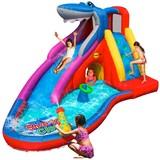 Wasserrutsche Sharks Club - Multicolor, Kunststoff (450/320/240cm)