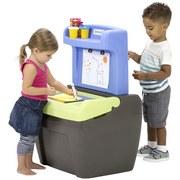 Kinderspielset Simplay 3 Zeichentisch - Blau/Grau, Basics, Kunststoff (51,1/59,1/88,3cm)