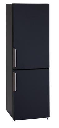 Kühl-Gefrier-Kombination in Schwarz