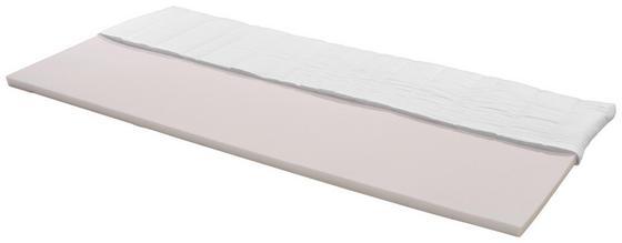 Topper Ingo H2 90x200 - Weiß, Textil (90/200cm) - Primatex