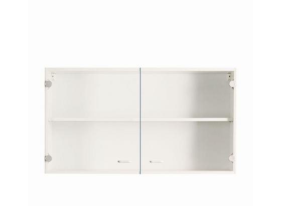 Kuchyňská Horní Skříňka Speed - bílá, Moderní, kompozitní dřevo (100/54/32cm)