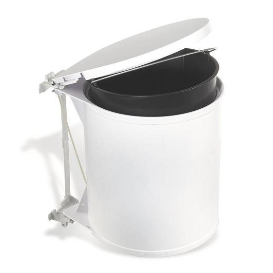 Koš Odpadkový 374020 - bílá, umělá hmota (32/31/27cm)