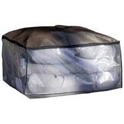 Tragetasche Cappa für Palettenkissenset - Taupe/Transparent, Basics, Textil (40/87/60cm)