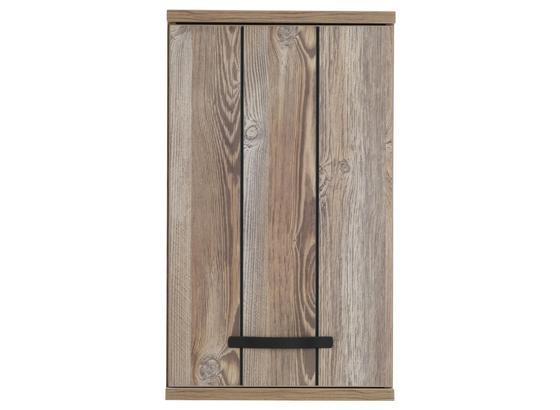 Horná Skrinka Catherine - farby borovice/tmavosivá, Moderný, kov/kompozitné drevo (41/69/29cm) - Mömax modern living