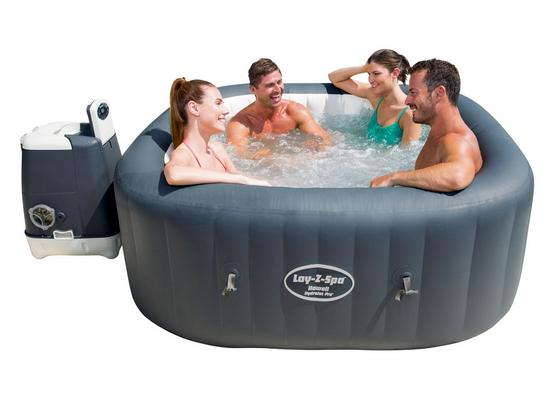 bestway whirlpool lay z spa hawaii online kaufen m belix. Black Bedroom Furniture Sets. Home Design Ideas