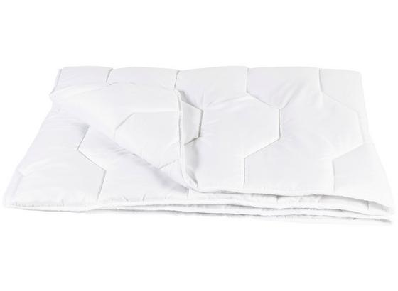 Steppdecke Chrisi Sommerbett 140x200 cm - Weiß, Textil (140/200cm)