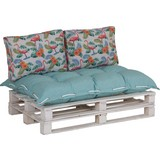 Palettenkissen 3-Tlg. Loungeset - Multicolor, MODERN, Textil