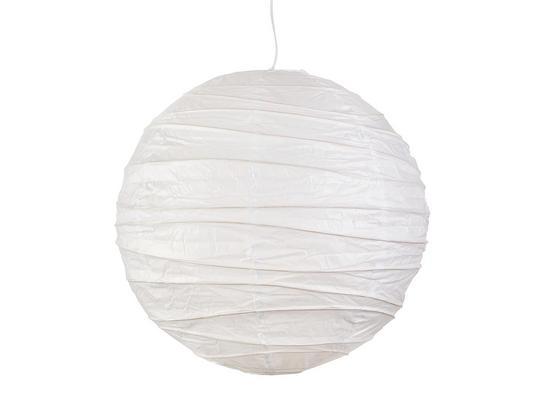 Tienidlo Na Svetlo Valentina - biela, kov/papier (50cm) - Mömax modern living