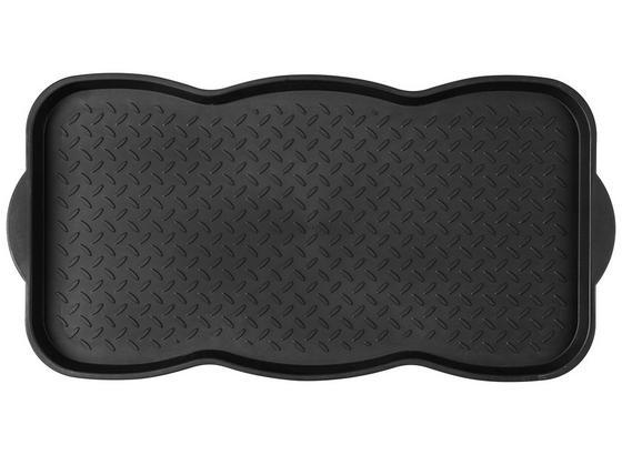 Podložka Na Boty Texas 1 - černá, Basics, umělá hmota (75.5/38/3cm) - Modern Living