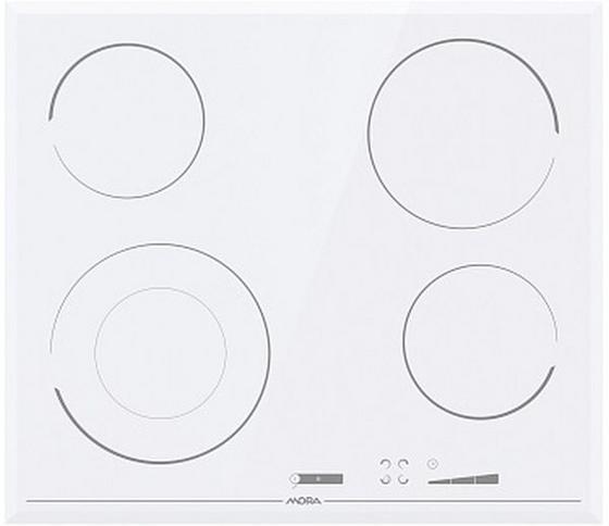 Sklokeramická Varná Doska Vdss 647 Ffw (mora) - biela, Moderný, kov/sklo (59/5,4/52cm) - Mora